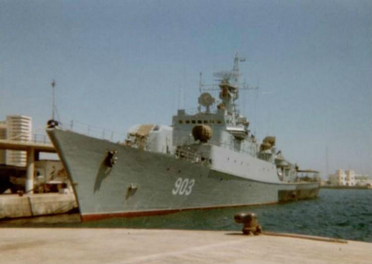Корабль проекта 1159. Фото: Википедия