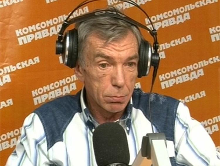 """Юрий Николаев - частый гость на Радио """"Комсомольская правда"""""""