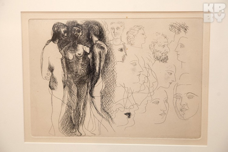 Общая стоимость произведений искусства - почти полтора миллиона евро.