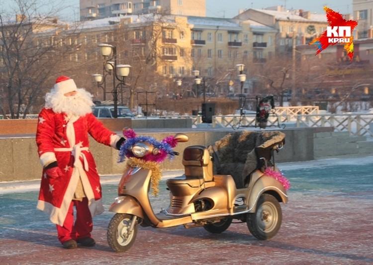 Дед мороз 21 века