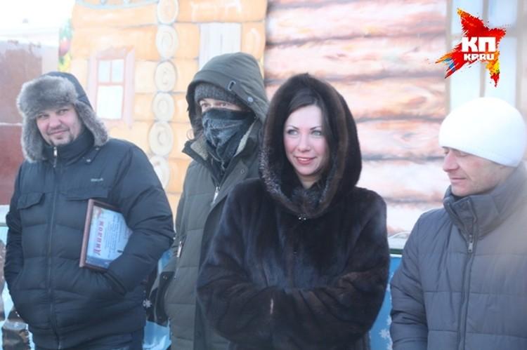Галина Истомина, победитель конкурса ледяных скульптур
