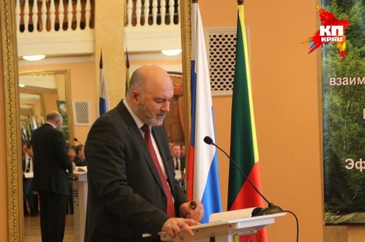 Константин Ильковский, губернатор Забайкальского края