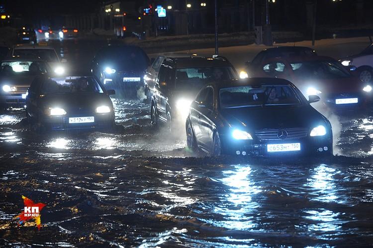 Так в настоящее время выглядят московские дороги