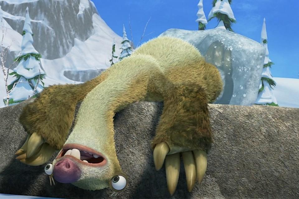 Фото ленивца из ледникового периода