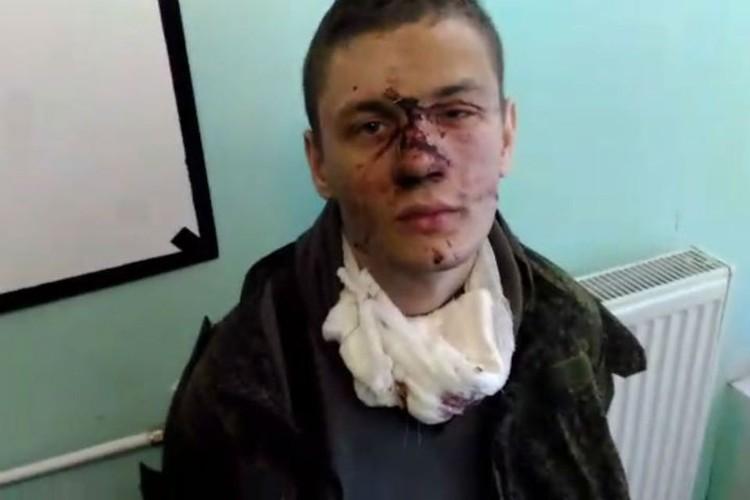 Степан Даценко после задержания. Стоп кадр