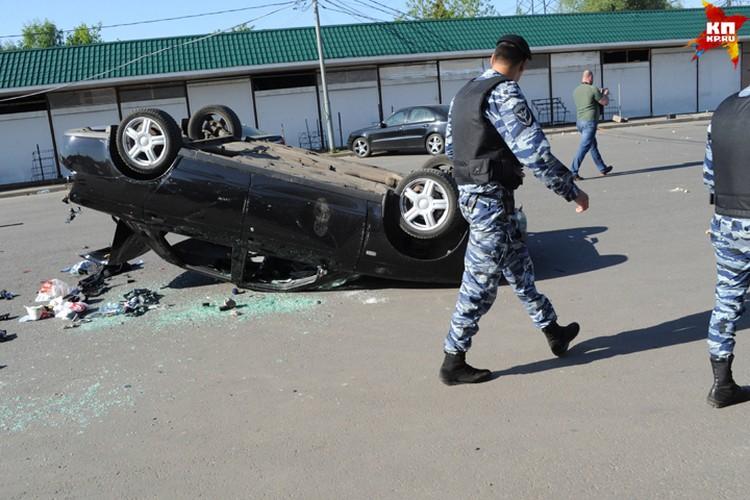 Из-за происшествия по тревоге были подняты сотрудники столичного ОМОНа.