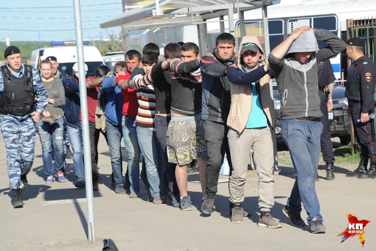 Полиция задержала 90 участников конфликта