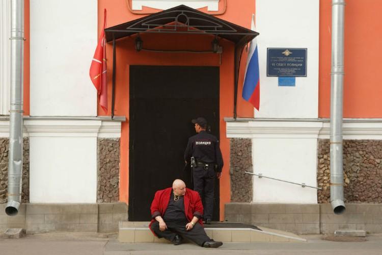 Стас Барецкий в рейде не участвовал - ездил по делам в Москву.