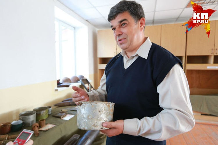 Евгений Шаповалов, командир поискового отряда «Феникс»