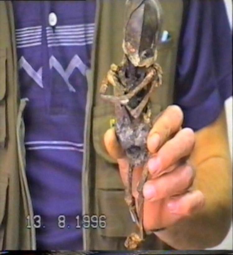 Мумия пришельца пропала в 1996 году