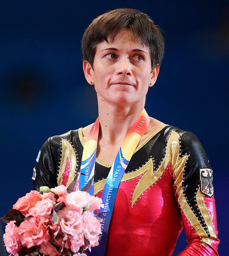 Оксана Чусовитина в составе сборной Германии.