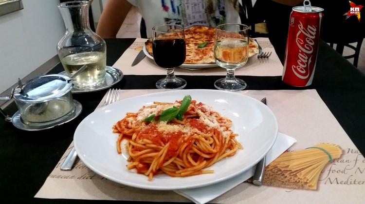 Такой обед обойдется в 22 евро.