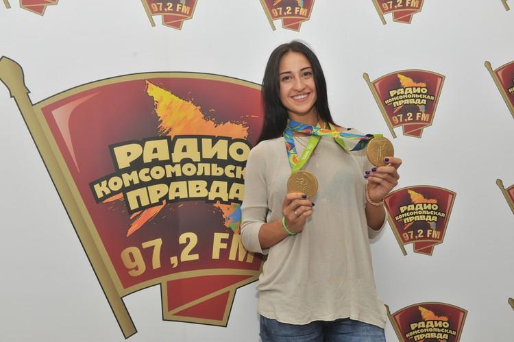 Двукратная олимпийская чемпионка Яна Егорян в гостях у Радио «Комсомольская правда»