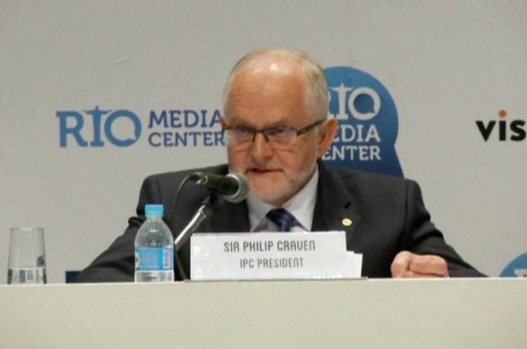 7 августа. Филипп Крейвен в Рио объявляет об отстранении России от Паралимпиады.