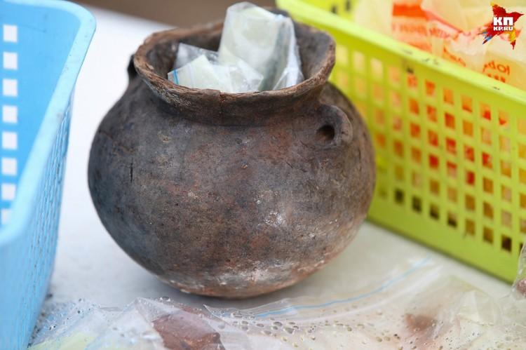 Несколько тысяч лет назад этот сосуд изготовили на гончарном круге