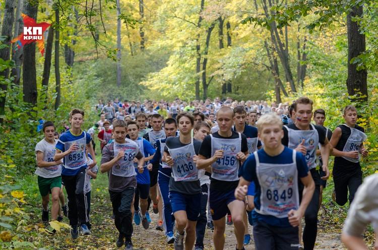 Около 7 тысяч человек пробежали всероссийский кросс в Самаре.