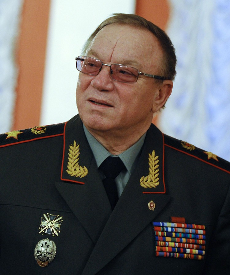 Экс-министр МВД России Анатолий Куликов
