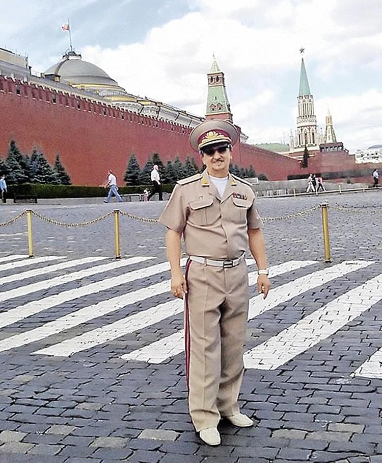 Красная площадь для Сергея Балабанова - одно из любимых мест в Москве.