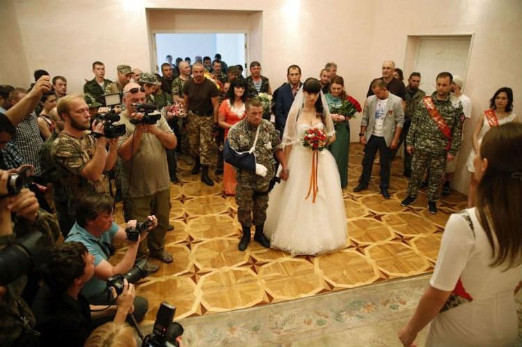 Свадьба Моторолы с Еленой.