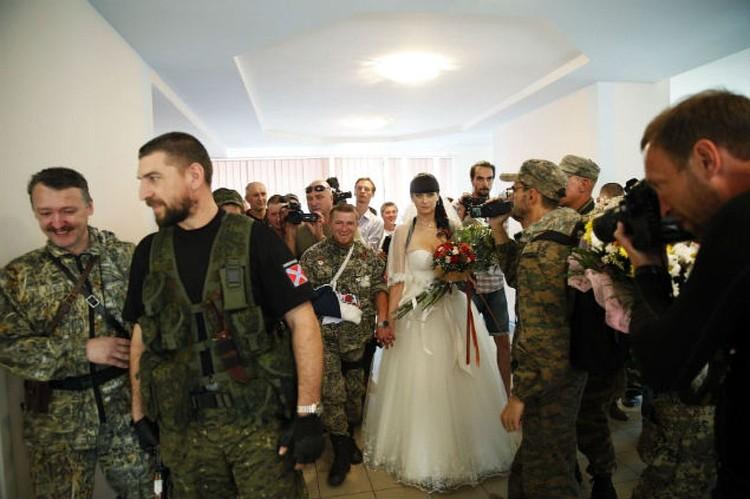Это был первый брак, заключенный «именем Донецкой Народной Республики».