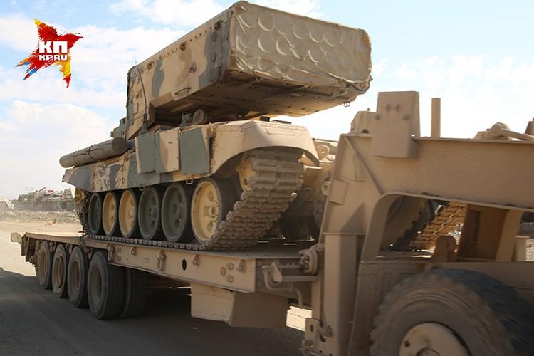 Боевая техника иракской армии. По сравнению с курдами - всё очень серьёзно.