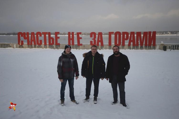 Владимир Ворсобин с читателями в Перми.