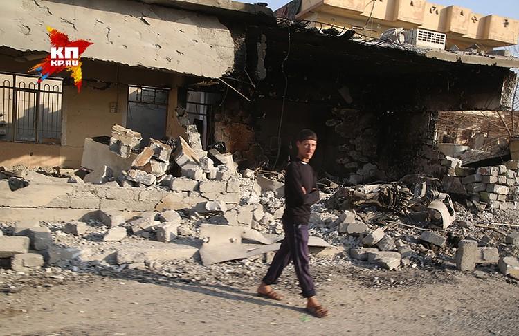 Развалины Хаммам Аль-Али.
