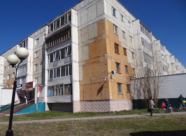 Дом до капитального ремонта в Ханты-Мансийском автономном округе.