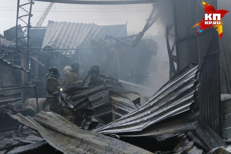 С огнем боролись практически семь часов.