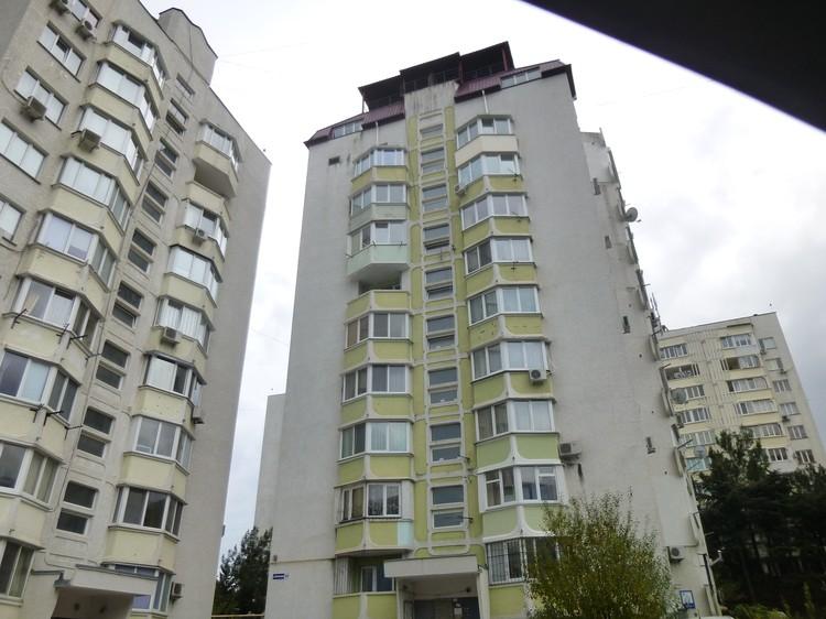 Дом на улице Блюхера.