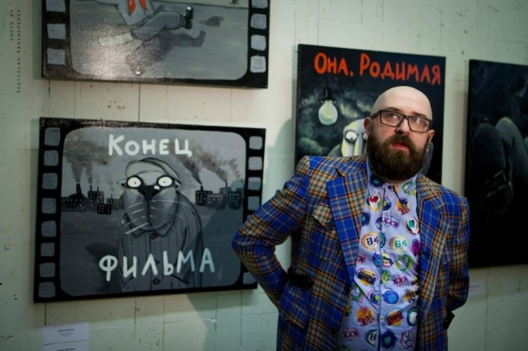Свои работы Вася Ложкин не считает большими метафорами