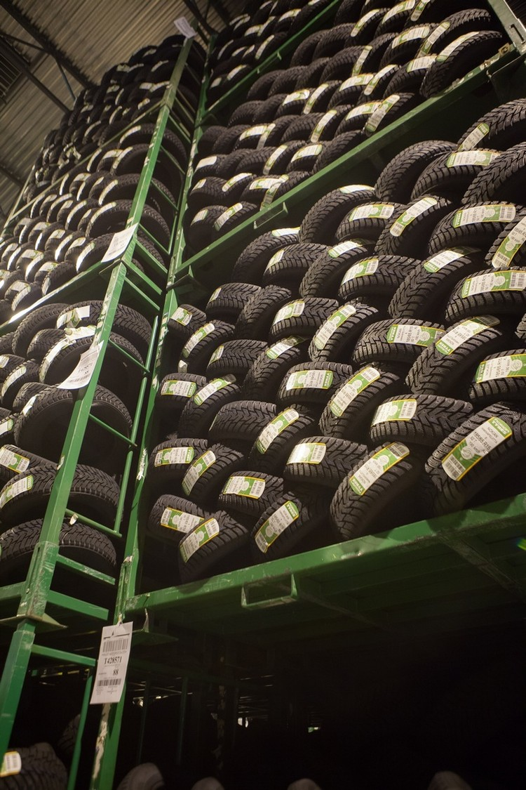 Сегодня в Ленинградской области производят 85% шин Nokian, продаваемых во всем мире