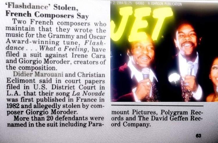 """Выдержка из американского журнала """"Jet"""", July 1984 (на фото обложка этого номера)"""