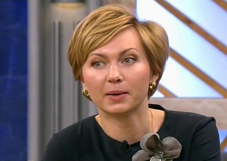 В результате крушения лифта погибла Ирина Володина, дочь известного телеведущего Евгения Кочергина. Фото: 1 канал