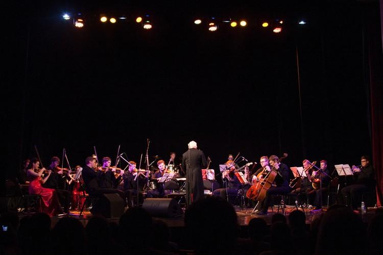 Во время выступления оркестра Ip Orchestra можно подпевать и пританцовывать