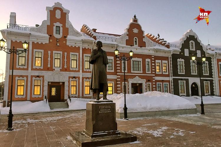 Офисное здание фирмы мачехи Маркелова.