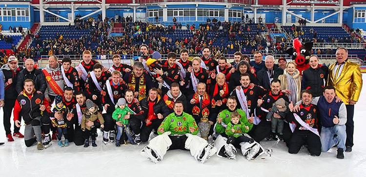 Хабаровский «СКА-Нефтяник» впервые в истории стал чемпионом России