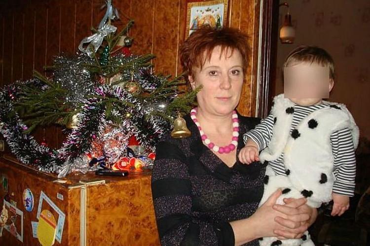 Убитая медсестра Ольга Горохова.