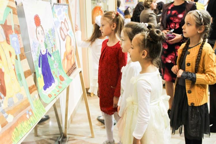 Ребята изобразили любимых персонажей детского писателя Эдуарда Успенского