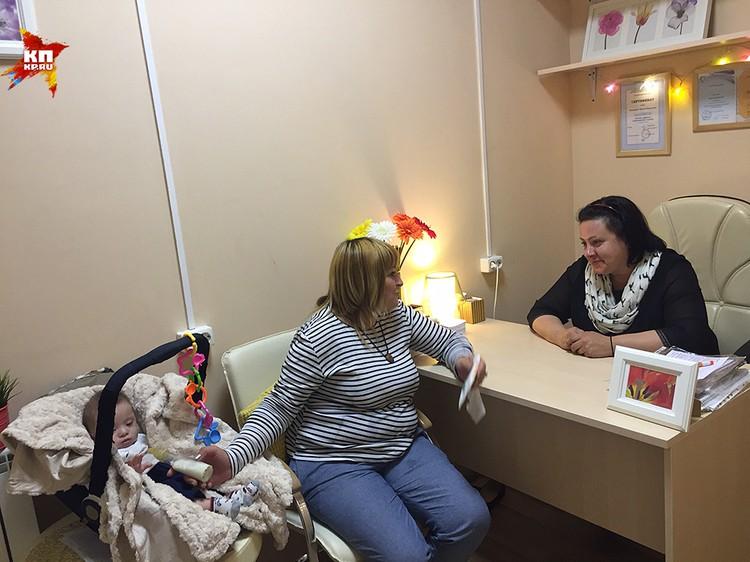 Мама у психолога Марины Антоновой, которая отговорила ее от аборта