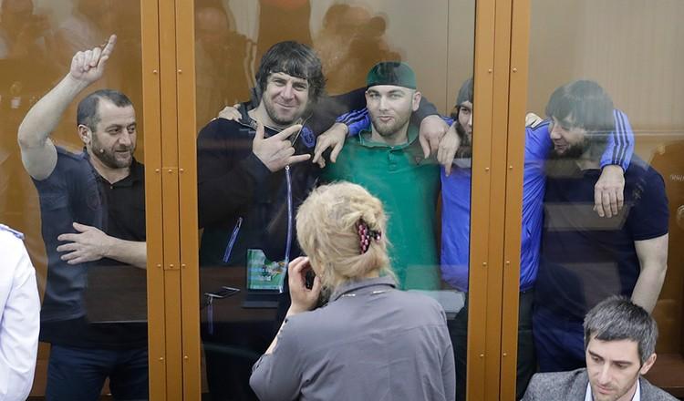 Соучастники убийства Немцова также получили большие сроки