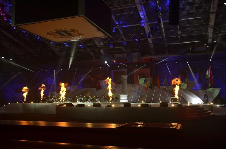 Церемония Открытия Фестиваля национальных видов спорта в Ульяновске.