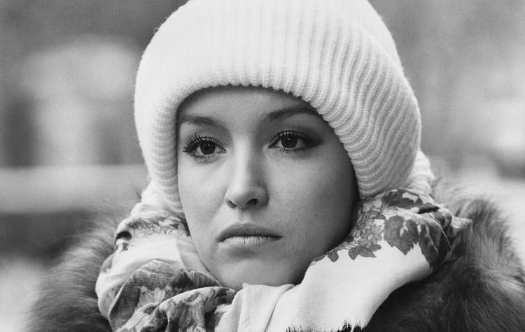 Актриса Анна Самохина в 1990 году. Фото Р.Горелова, Фотохроника ТАСС
