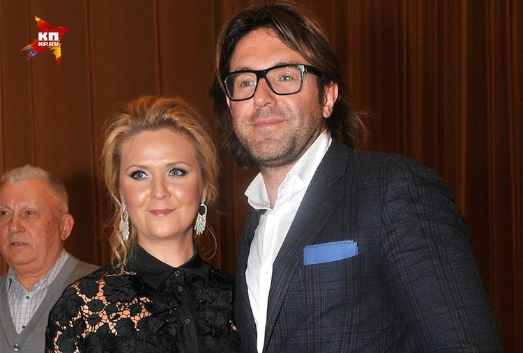 Андрей Малахов с супругой Натальей Шкулевой.