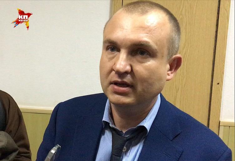 Адвокат Виктор Запрудский.