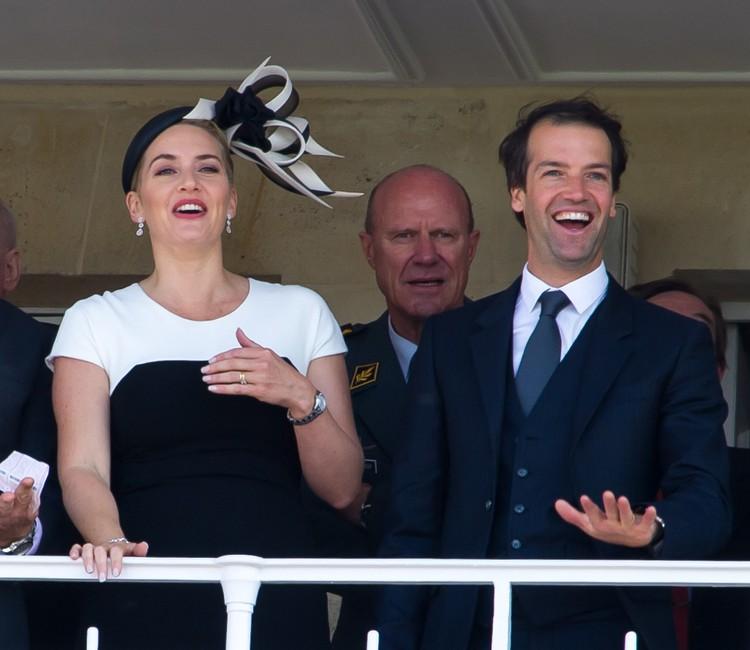 Кейт с третьим мужем - британским бизнесменом Недом Рокнроллом.
