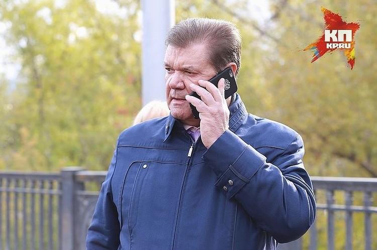 Владимир Егоров, как и обещал, подал документы на пост мэра Красноярска