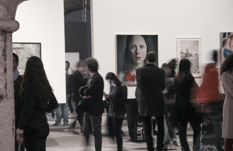 На выставке в Венеции. Фото: личный архив