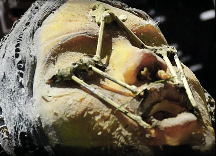 Мумия инопланетянки Моны Лизы, якобы доставленная на Землю с Луны, - не что иное, как фейк.