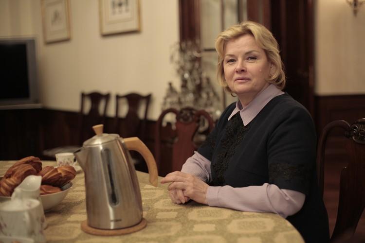 """Тамара Акулова, как и хотел режиссер Юсуп Разыков, украсила собой фильм. Фото: телеканал """"Домашний"""""""
